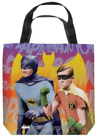 Batman Classic Tv - Biff Bang Pow Tote Bag