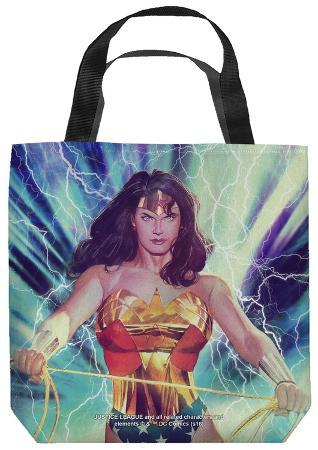 Justice League of America - Stormy Heroine Tote Bag