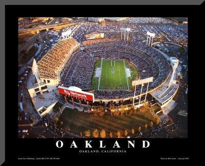 Oakland: Network Associates, Raiders Football