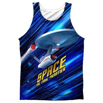 Tank Top: Star Trek- Space Frontier