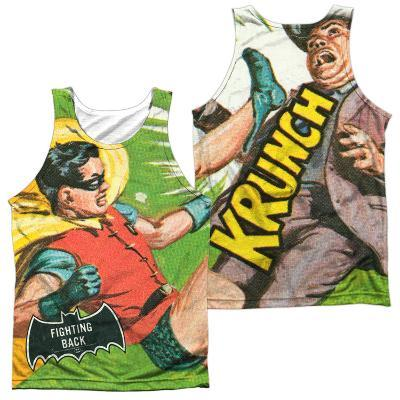 Tank Top: Batman Classic TV- Fighting Back (Front/Back)