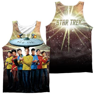 Tank Top: Star Trek- Original Crew (Front/Back)