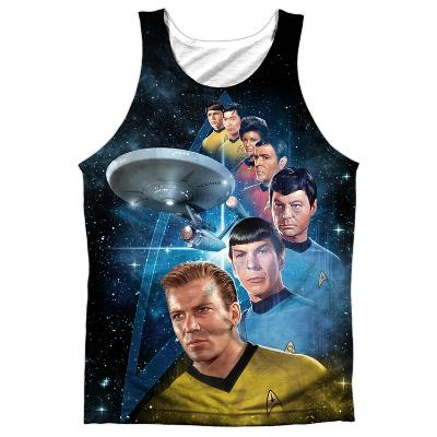 Tank Top: Star Trek- Among The Stars Black Back