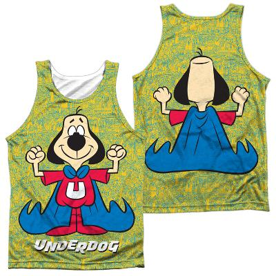 Tank Top: Underdog- Flexing (Front/Back)