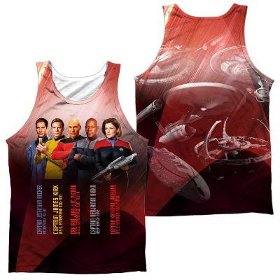 Tank Top: Star Trek- Captains (Front/Back)
