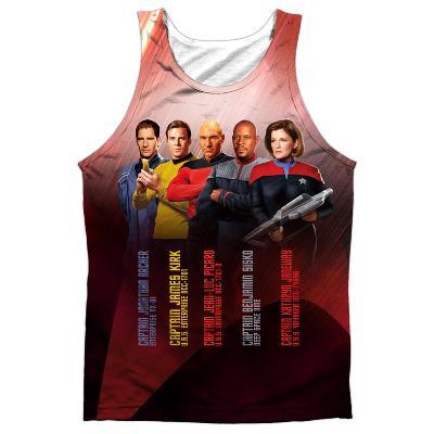 Tank Top: Star Trek- Captains