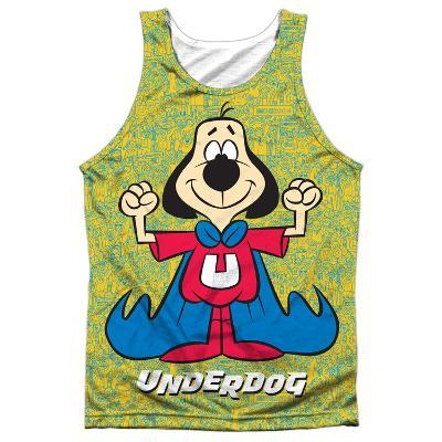 Tank Top: Underdog- Flexing