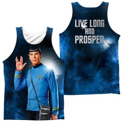 Tank Top: Star Trek- Live Long (Front/Back)