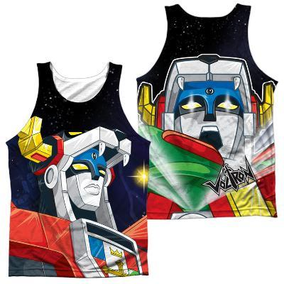 Tank Top: Voltron- Space (Front/Back)