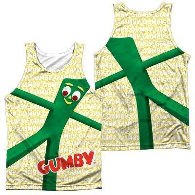 Tank Top: Gumby- Stretched (Front/Back)