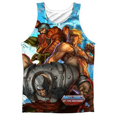Tank Top: Masters Of The Universe- Heroes And Villains