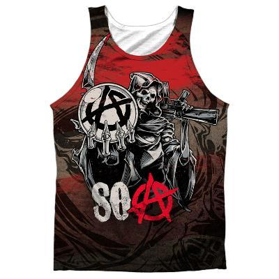 Tank Top: Sons Of Anarchy- Reaper Ball