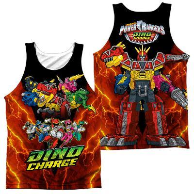 Tank Top: Power Rangers- Zord Power (Front/Back)