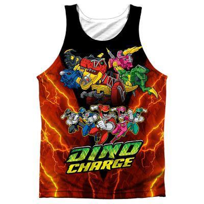 Tank Top: Power Rangers- Zord Power