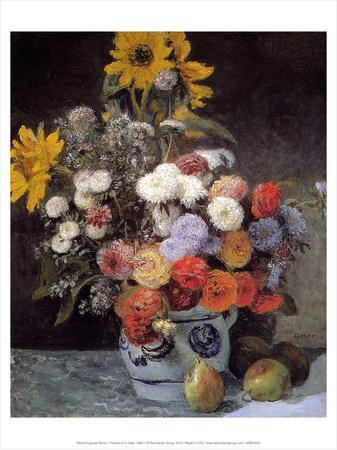Flowers in a Vase, 1869