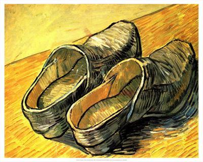 A Pair of Wooden Shoes, 1888