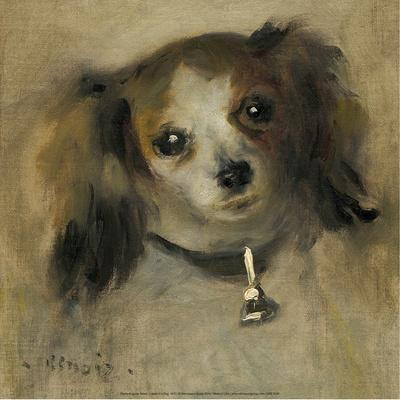 Head of a Dog, 1870