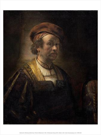 Rembrandt Workshop, Portrait of Rembrandt, 1650