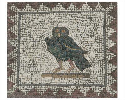 Roman mosaic in Itálica, Spain, c. Roman Era