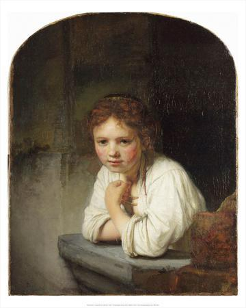 Young Girl at a Window (1645)