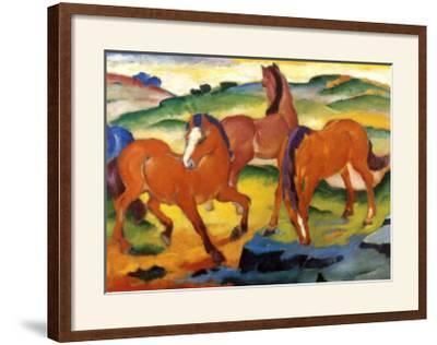 The Large Red Horses, 1911