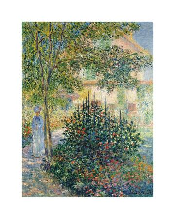 Camille Monet in the Garden at Argenteuil, 1876