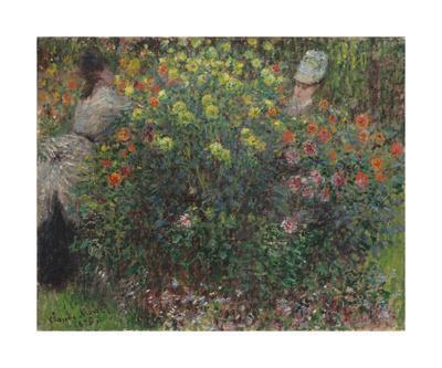 Ladies in Flowers, 1875