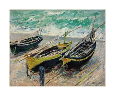Three Fishing Boats, 1886