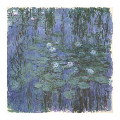 Blue Water Lilies Between, c.1916-1919