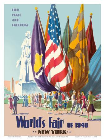 New York World's Fair of 1940 - For Peace and Freedom