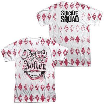 Suicide Squad- Property Of Joker Argyle (Front/Back)