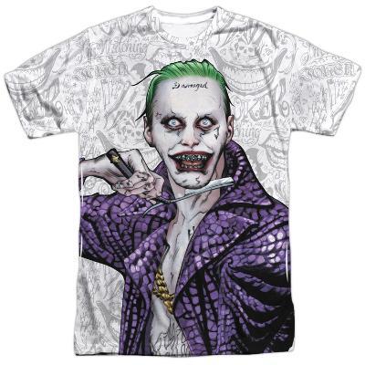 Suicide Squad- Joker Close Shave Etches