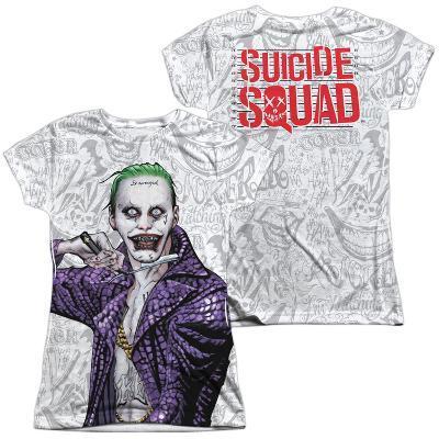 Juniors: Suicide Squad- Joker Close Shave Etches (Front/Back)