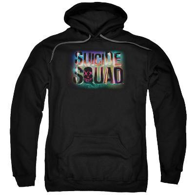 Hoodie: Suicide Squad- Neon Logo