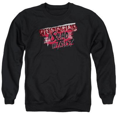 Crewneck Sweatshirt: Suicide Squad- In Squad We Trust