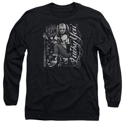 Long Sleeve: Suicide Squad- Harley Quinn Lucky You