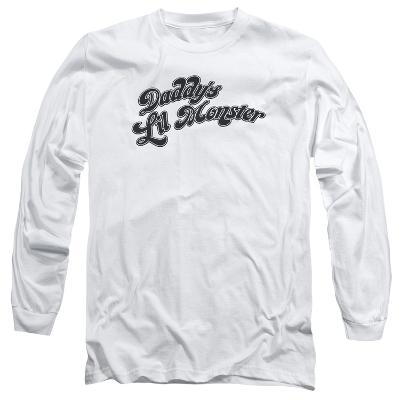 Long Sleeve: Suicide Squad- Daddys Lil Monster