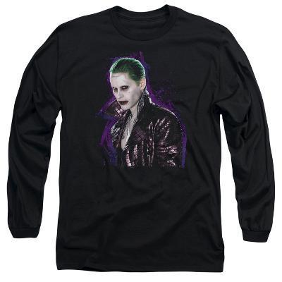 Long Sleeve: Suicide Squad- The Joker Smoulder