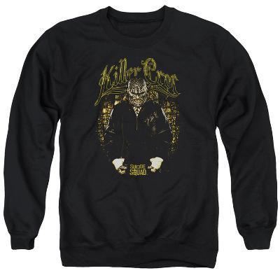 Crewneck Sweatshirt: Suicide Squad- Killer Croc Skin