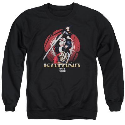Crewneck Sweatshirt: Suicide Squad- Katana On Guard