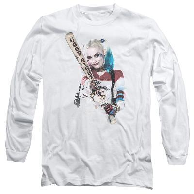 Long Sleeve: Suicide Squad- Harley Quinn At Bat