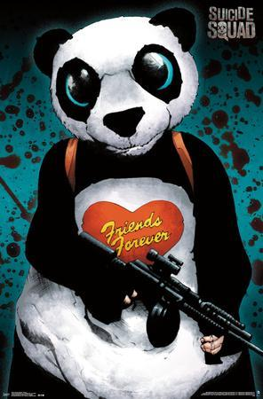 Suicide Squad- Gangster Panda