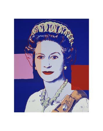 Reigning Queens: Queen Elizabeth II of the United Kingdom, 1985 (blue)