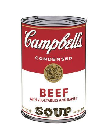 Campbell's Soup I: Beef, 1968