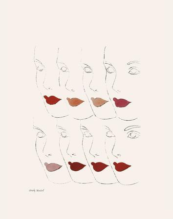 Untitled (Female Faces), c. 1960