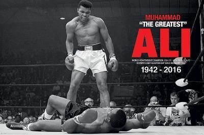 Muhammad Ali- Liston Knockdown Commemorative