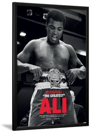 Muhammad Ali- Accepting The Belt Commenorative