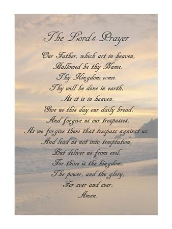 The Lord's Prayer - Sunset