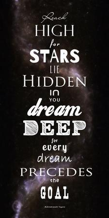 Reach High for Stars