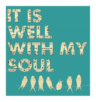It Is Well With My Soul - Aqua